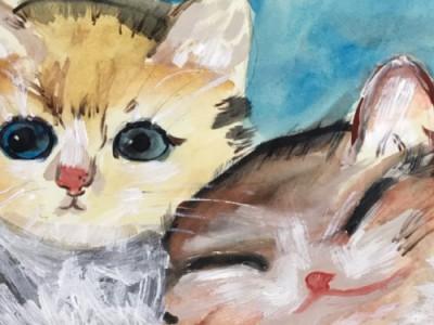 入选结果公布:12幅儿童画作将参加公益拍卖