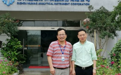 精准医疗分会副会长张翱教授莅临苏州纽迈考察指导