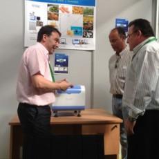 磁共振含油含水分析仪亮相西班牙国际橄榄及橄榄油展会