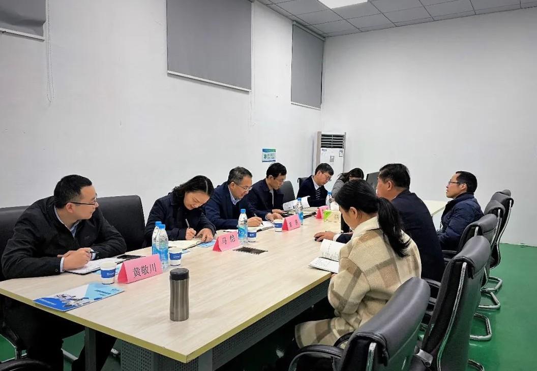 欢迎苏州新区组织部领导莅临纽迈视察